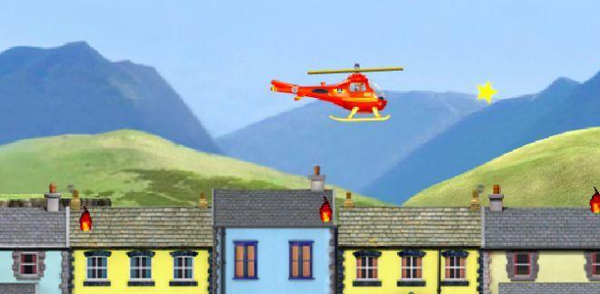 Elicottero spegni fiamme - Sam il Pompiere