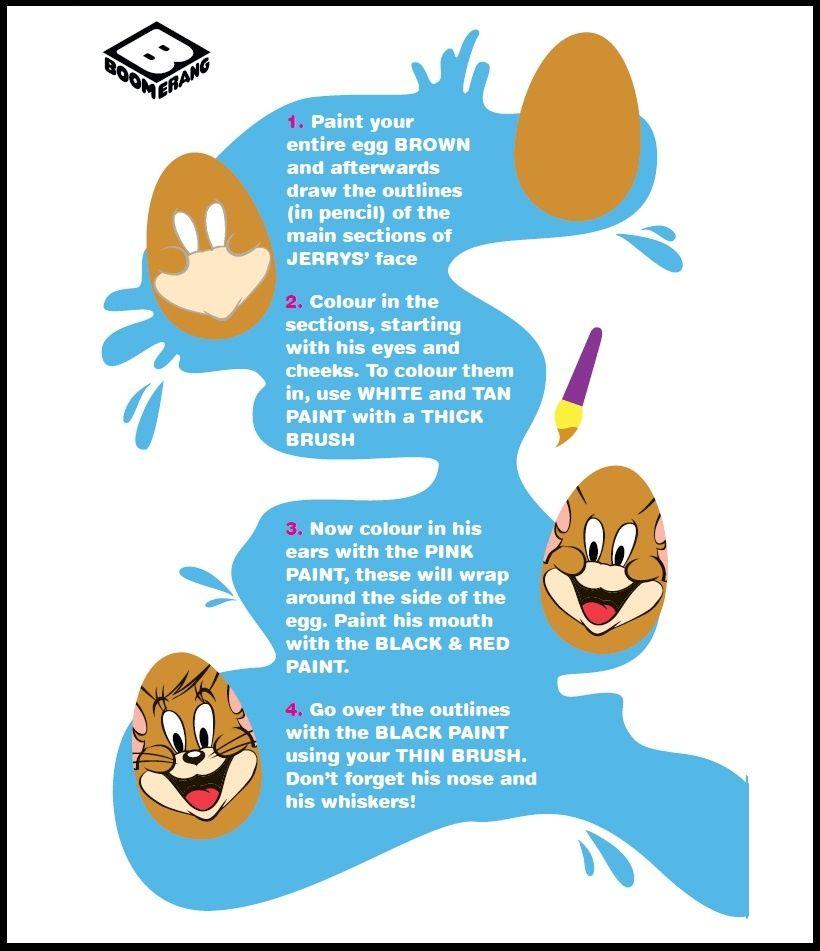 Tom & Jerry Egg
