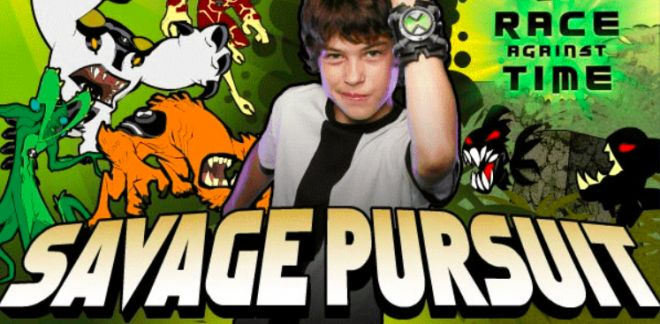 Savage Pursuit - Ben 10